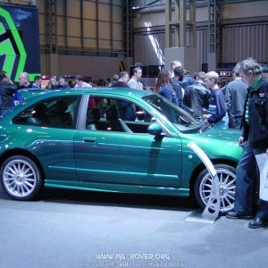 MG ZR (Lemans Green)