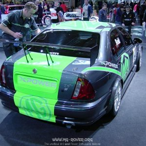 MG ZS EX259 BTCC Car