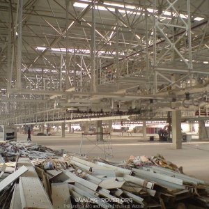 Inside H1 of GA Building, NAC-MG factory, Pukou.