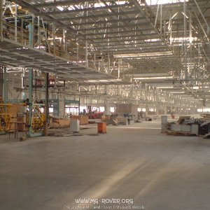 Inside H2 of GA Building, NAC-MG factory, Pukou.