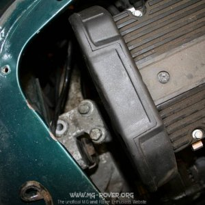 Engine mounting replacement