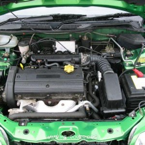 under the bonnet