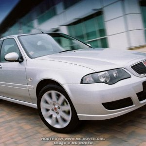 2004 Facelift Rover 45