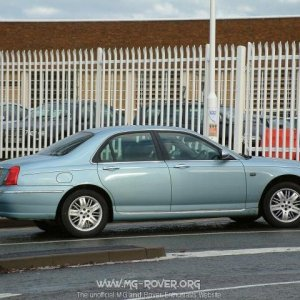 Wedgewood Rover 75