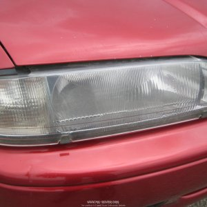 OEM Rover 600 head lamp protective covers