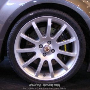 TF XPower's Front wheel