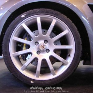 TF XPower's Rear wheel