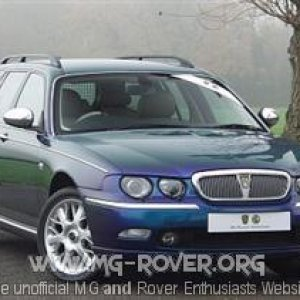 Rover 75 Tourer Connoisseur SE in Typhoon