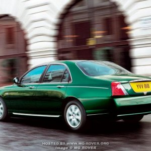 04 Model Year Rover 75 (Facelift)