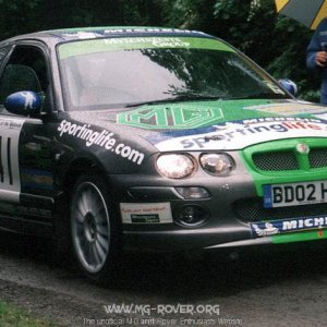 MG ZR @ Rally of Midlands
