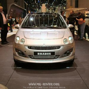Smart For Four Brabus