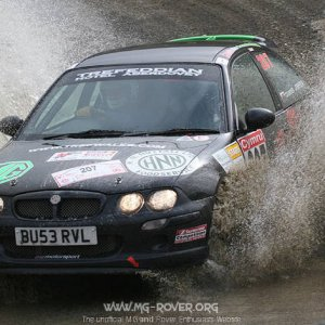 MG ZR, International Rally of Wales