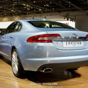 Jaguar at the London Motorshow