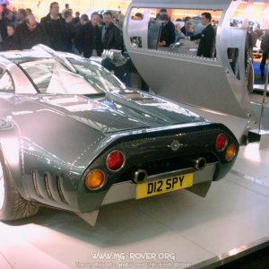 Spyker C8 Double 12 Rear
