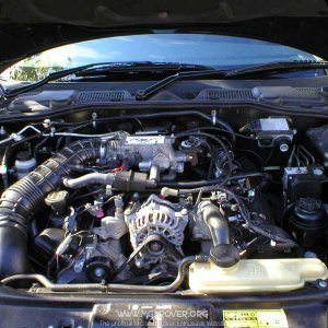 MG V8 Mustang Engine