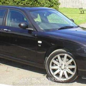 MG V8 Front O/S Apex Alloys