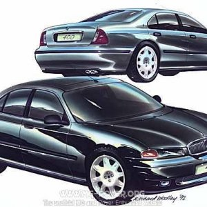 Rover 400 drawning