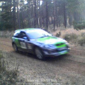 MG ZR at Bournemouth Sunseeker Rally