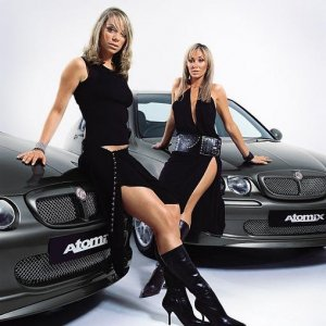 ZR / ZS Atomix SE with Atomic Kittens Liz McLarnon and Jenny Frost
