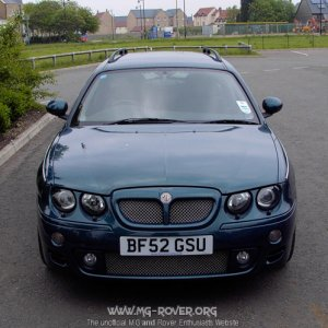 MG ZT-T 190+ ------ Colour: Gulf Stream
